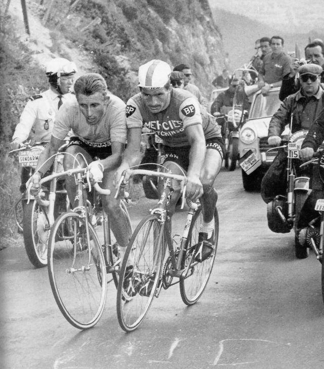 Jacques Anquetil Raymond Poulidor Puy de Dome